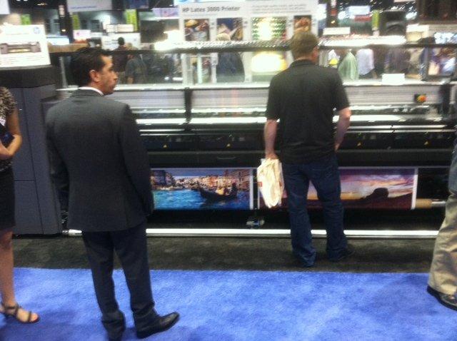 HP Latex Printer 3000