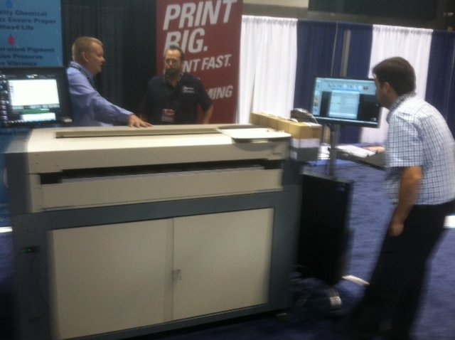 Reprographic Technology (RTI) Vortex 4200 Memjet Printer