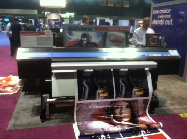 Roland SOLJET Pro Inkjet Printer