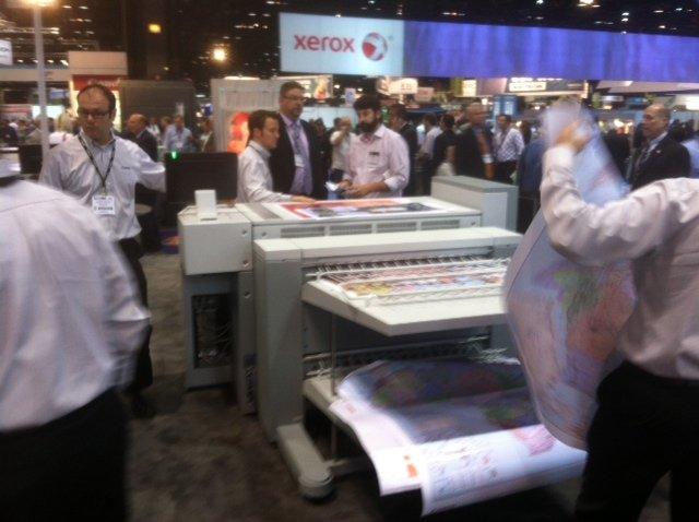 Oce Colorwave 900 Memjet Inkjet Printer