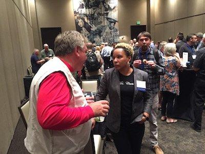 convention Steve Coyle and Sabrina Carter.JPG