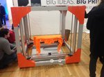 The BigRep One 3D Printer debuted at the New York 3D PrintShow.