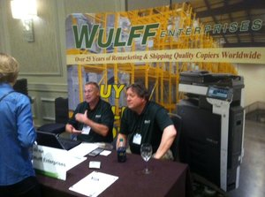 Jerry Howald and Mark Johnson of Wulff Enterprises, Inc.